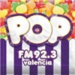 Logo da emissora Radio Pop 92.3 FM