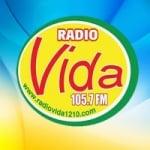 Logo da emissora Radio Vida 105.7 FM