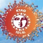 Logo da emissora KTAO 101.7 FM