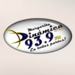 Logo da emissora Radio Dinámica 93.9 FM