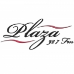 Logo da emissora Radio Plaza 92.7 FM