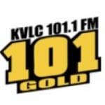 Logo da emissora KVLC 101.1 FM