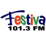 Logo da emissora Radio Festiva 101.3 FM