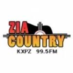 Logo da emissora KXPZ 99.5 FM