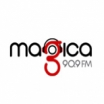 Logo da emissora Radio Magica Barinas 90.9 FM