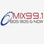Logo da emissora Mix 99.1 FM