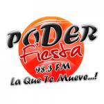Logo da emissora Radio Poder Fiesta 98.3 FM
