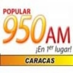 Logo da emissora Radio Popular 950 AM