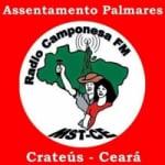 Logo da emissora Rádio Camponesa Palmares