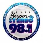 Logo da emissora Radio Super Stereo 98.1 FM