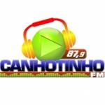 Logo da emissora Rádio Canhotinho 87.9 FM