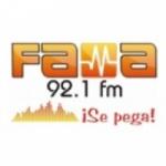 Logo da emissora Radio Fama 92.1 FM
