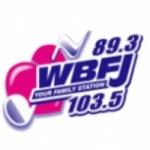 Logo da emissora WBFJ 89.3 FM