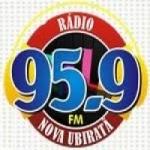 Logo da emissora Rádio Nova Ubiratã 95.9 FM