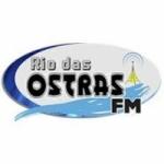 Logo da emissora Rádio Rio das Ostras FM