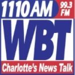 Logo da emissora WBT 1110 AM