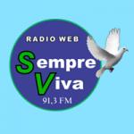 Logo da emissora Rádio Sempre Viva