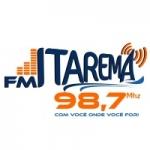 Logo da emissora Rádio Itarema 98.7 FM