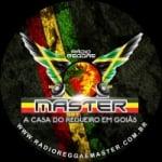 Logo da emissora Rádio Reggae Master