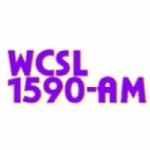 Logo da emissora WCSL 1590 AM