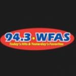 Logo da emissora WFAS 94.3 FM