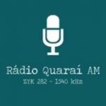 Logo da emissora Rádio Quaraí 1540 AM