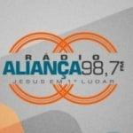Logo da emissora Rádio Aliança 98.7 FM