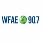 Logo da emissora WFAE 90.7 FM