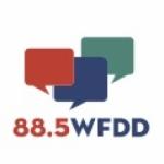 Logo da emissora WFDD 88.5 FM