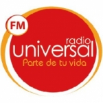 Logo da emissora Radio Universal 104.3 FM