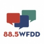Logo da emissora WFDD 88.5 FM Channel 2