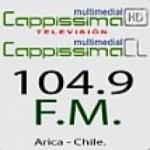 Logo da emissora Radio Cappissima 104.9 FM