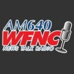 Logo da emissora WFNC 640 AM