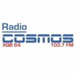 Logo da emissora Radio Cosmos 103.7 FM