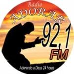 Logo da emissora Adorar na Net