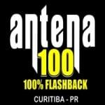 Logo da emissora Rádio Antena 100 FM