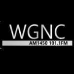 Logo da emissora WGNC 1450 AM