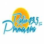 Logo da emissora Radio Primavera 93.5 FM