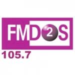 Logo da emissora Radio FM Dos 105.7