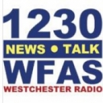 Logo da emissora WFAS 1230 AM