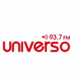 Logo da emissora Radio Universo 102.1 FM