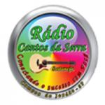 Logo da emissora Rádio Cantos da Serra