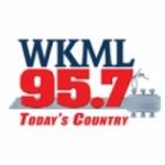 Logo da emissora WKML 95.7 FM