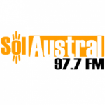 Logo da emissora Radio Sol Austral 97.7 FM