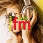 Logo da emissora Rádio Menina FM