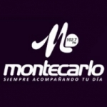 Logo da emissora Radio Montecarlo 98.7 FM