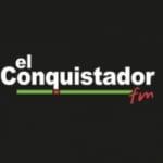 Logo da emissora Radio El Conquistador 100.7 FM