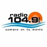 Logo da emissora Radio 104.9 FM