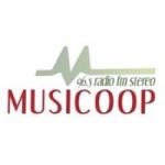 Logo da emissora Radio Musicoop 96.5 FM