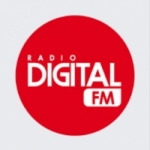 Logo da emissora Radio Digital 107.7 FM